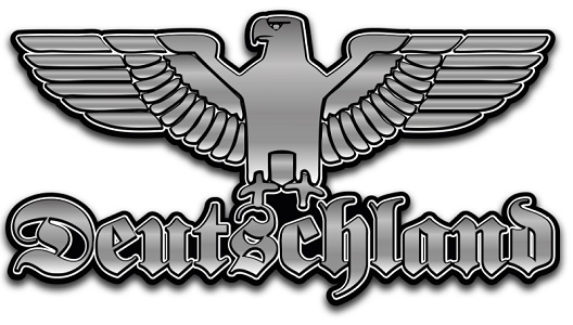 Deutschland Reichsadler - Aufkleber(wasserfest)