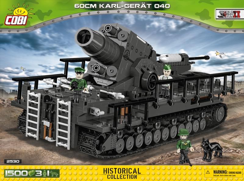 Cobi 2530 60cm Karl-Gerät - Mörser Karl - Bausatz(Nur noch wenige da)