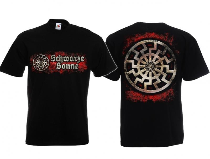 Schwarze Sonne - T-Shirt schwarz