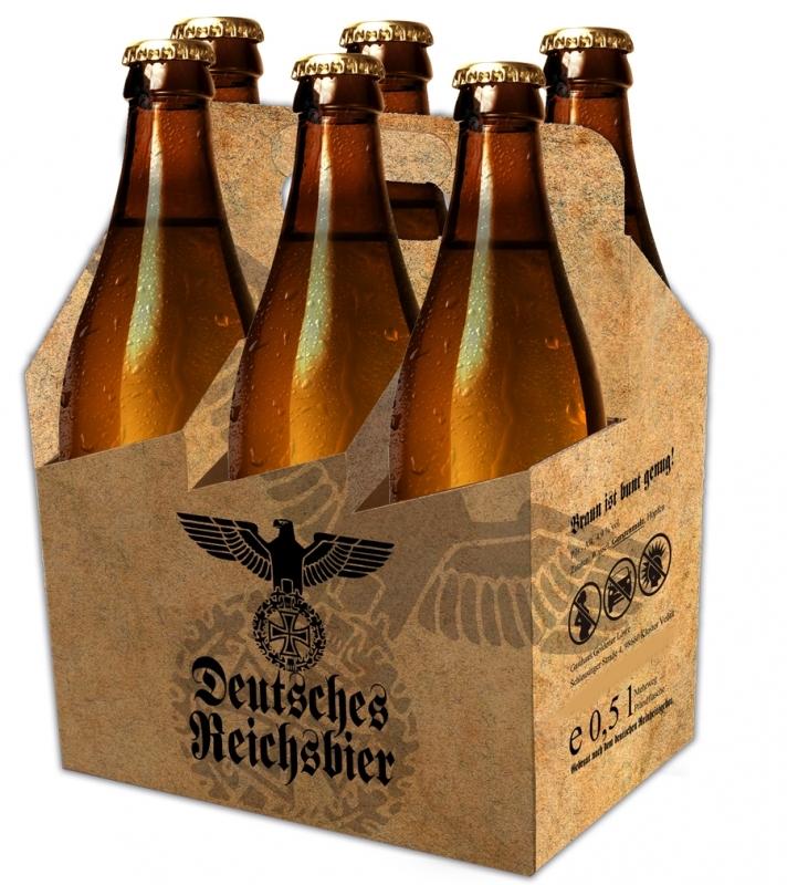 6er-Pack Tragetasche - Reichsbräu des Deutschen Reiches
