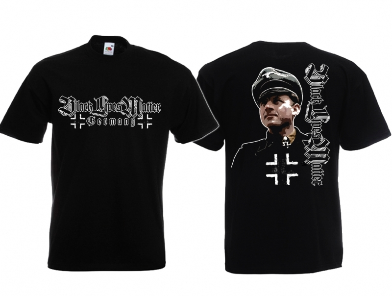 Black Lives Matter(Schwarze leben länger) - T-Shirt