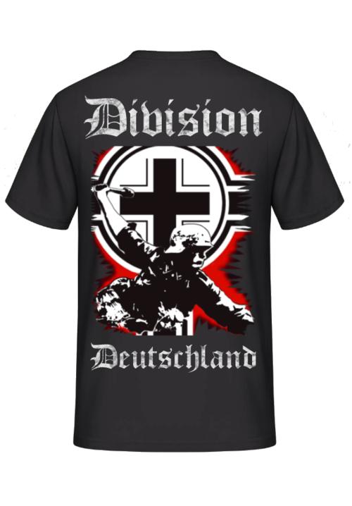Division Deutschland T-Shirt Rückenmotiv