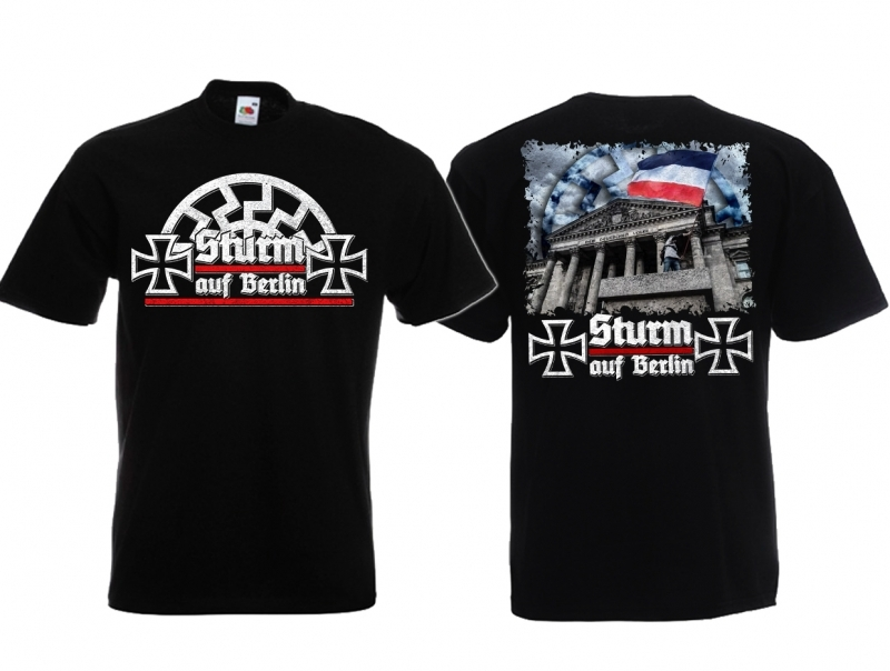 Berliner Sturm - T-Shirt schwarz