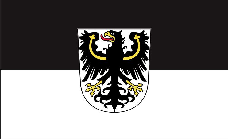 Ostpreußen - Fahne/Flagge 90x60 cm