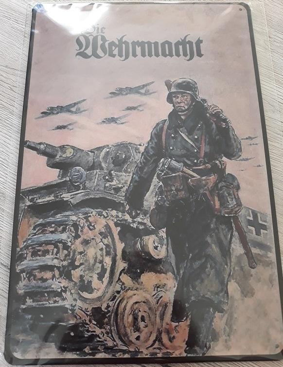Panzerkampfwagen III - Die Wehrmacht - Blechschild