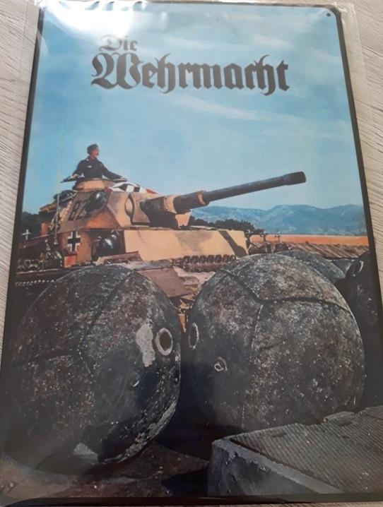Panzerkampfwagen IV - Blechschild