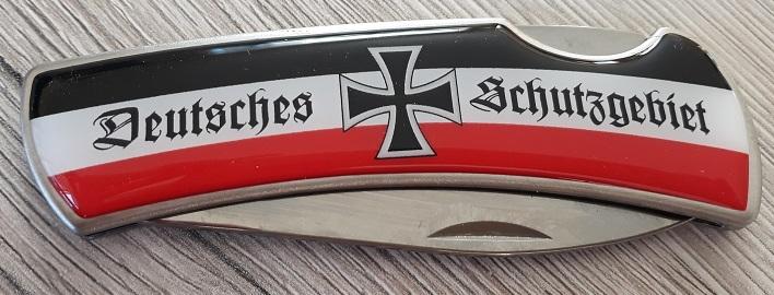 Deutsches Schutzgebiet - Taschenmesser