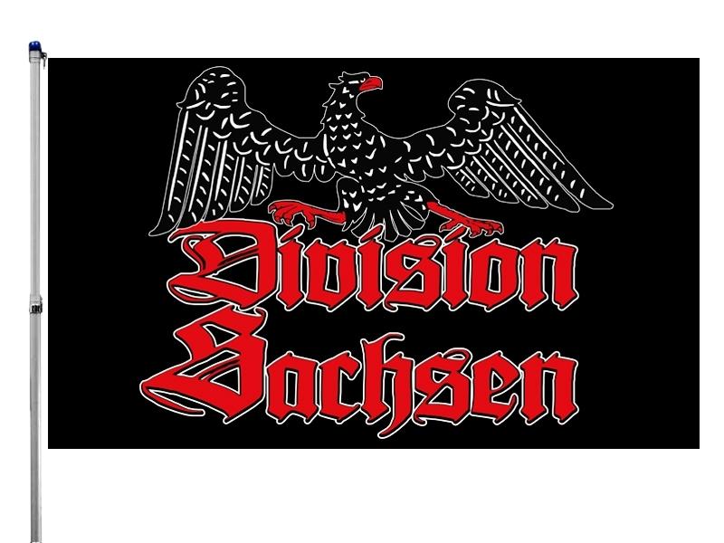 Kampfgruppe Division Sachsen - Fahne