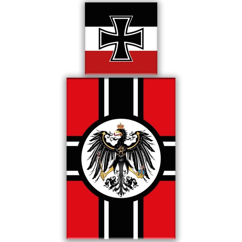 Schwarz/Weiss/Rot - Bettwäsche