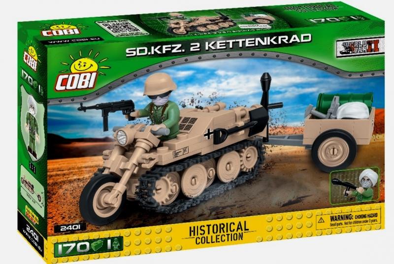 COBI 2401 Sd.Kfz.2 Kettenkrad Afrika Korps - Bausatz