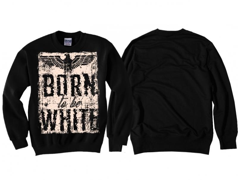 Born to be White - Pullover schwarz