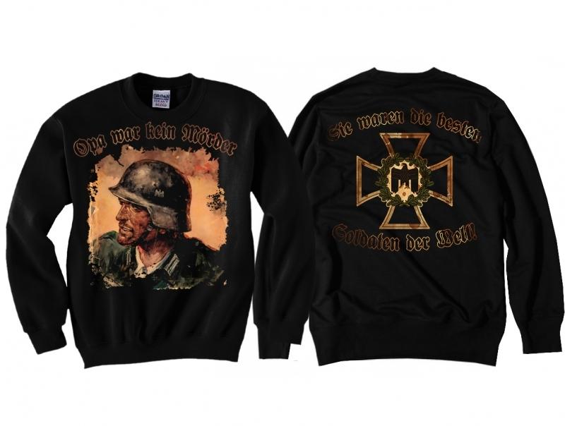 Opa war kein Mörder - Sie waren die besten Soldaten der Welt - Pullover schwarz
