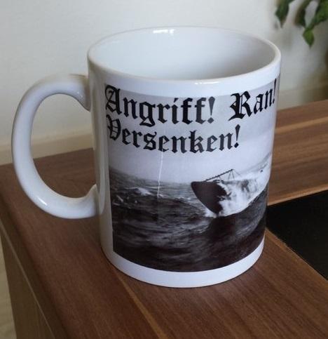 Angriff! Ran! Versenken! Deutsches U-Boot - 4 Tassen