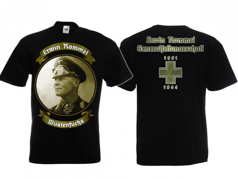 Erwin Rommel der Wüstenfuchs - T-Shirt