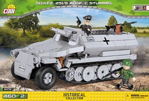 Sdkfz. 251/10 Ausführung C Bausatz