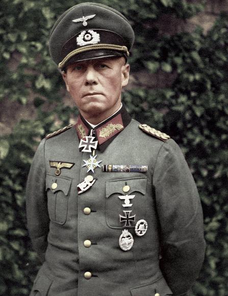 Erwin Rommel - Poster 80x60cm