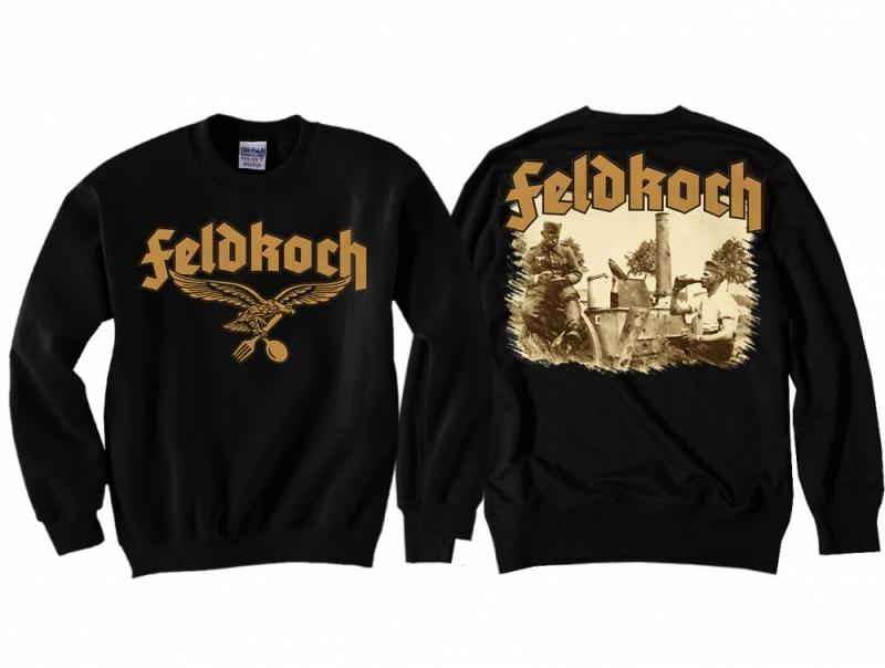 Feldkoch der Wehrmacht - Pullover schwarz