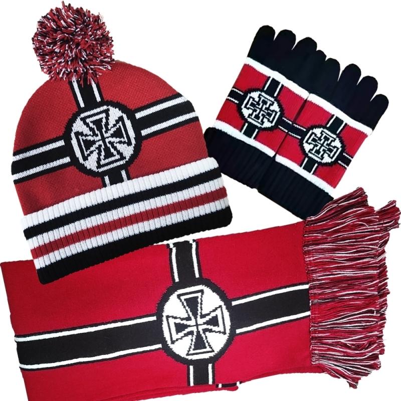 Wehrmacht Winter Set - Mütze/Schal/Handschuhe