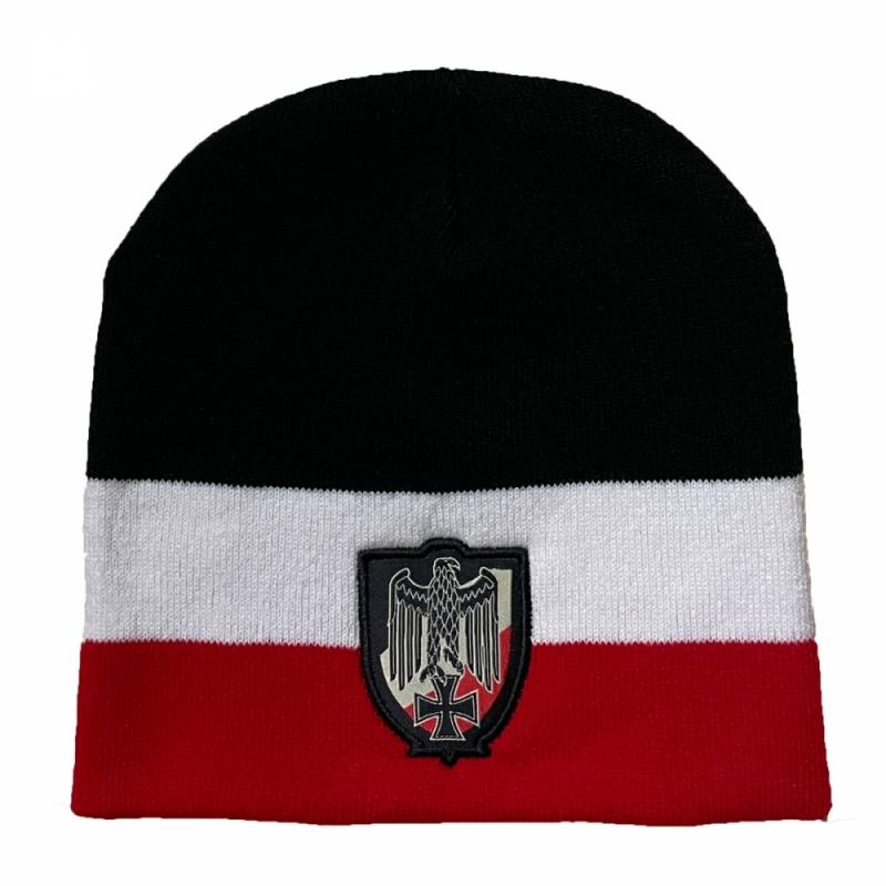Reichsadler Schwarz/Weiß/Rot - Mütze