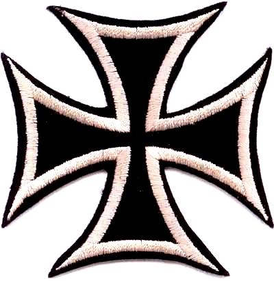Eisernes Kreuz - Aufnäher
