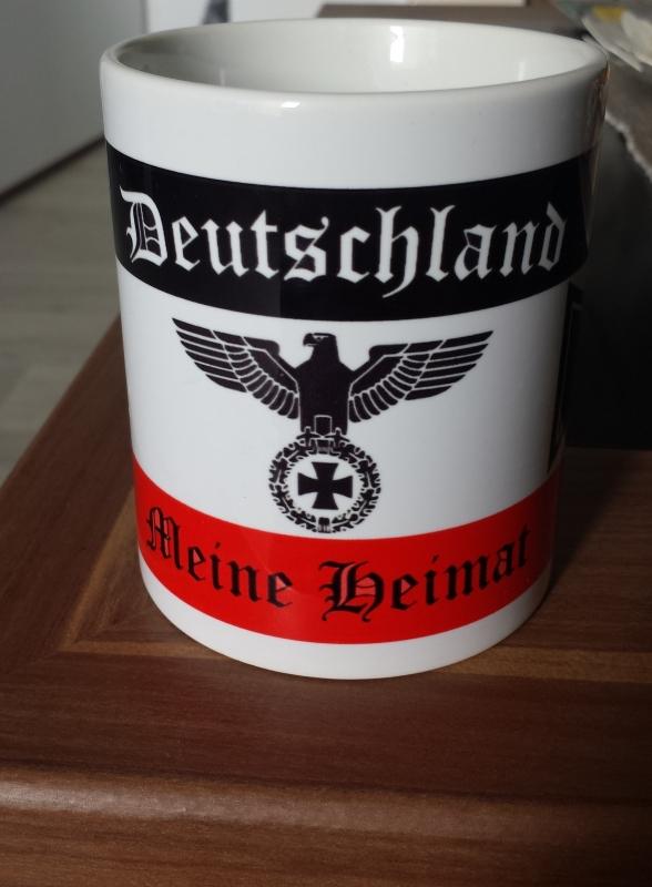 Deutschland - Meine Heimat - 4 Tassen(Rundumdruck)