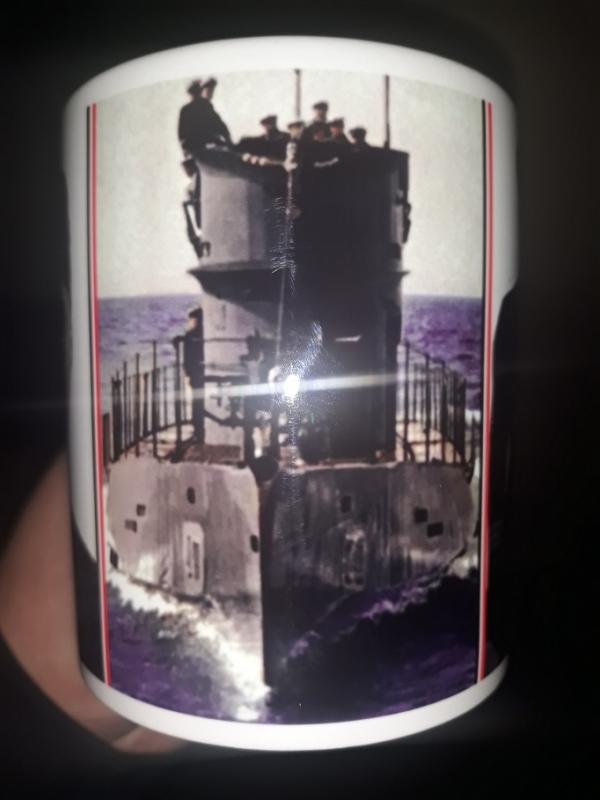 Wolfgang Lüth U-181 - 4 Tassen