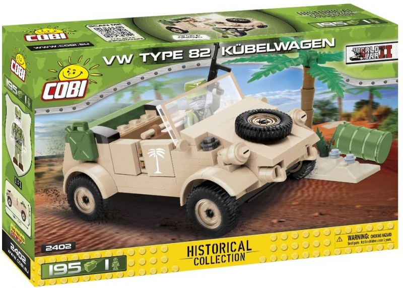 Cobi 2402 Kübelwagen - Bausatz