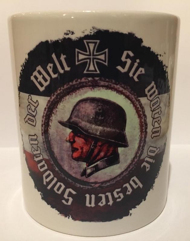 Die besten Soldaten der Welt - Tasse