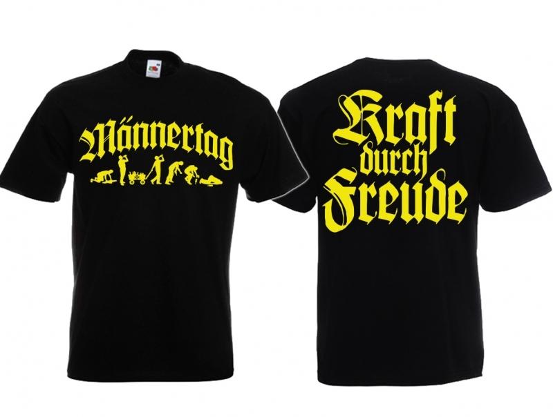 Männertag/Herrentag - T-Shirt schwarz