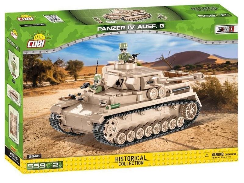 Cobi 2546 Panzer IV Ausf. G