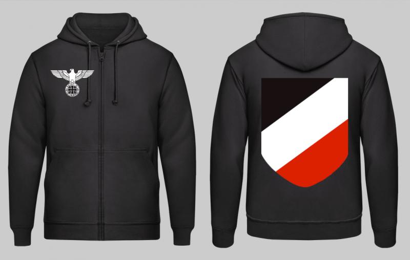 Reichsadler, WH Emblem - Kapuzenjacke