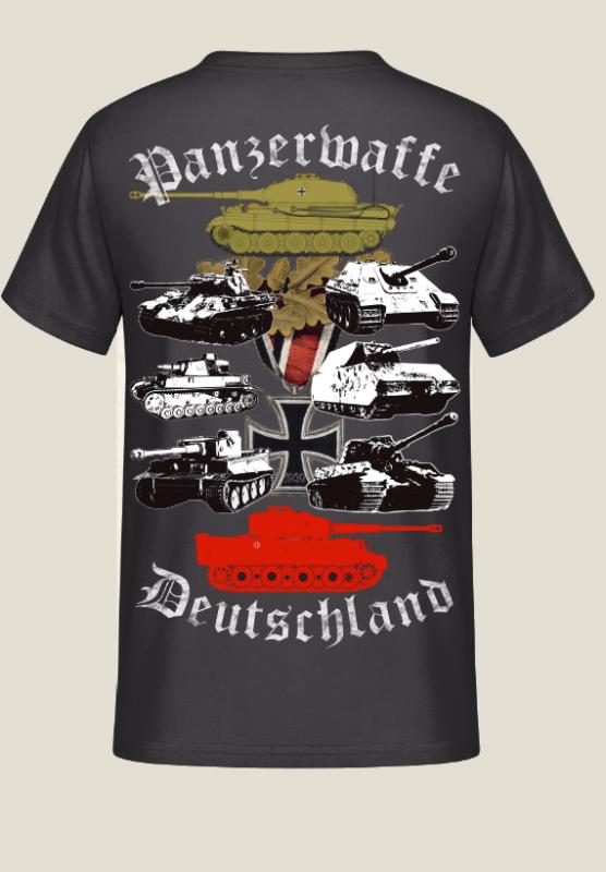Panzerwaffe Deutschland - T-Shirt