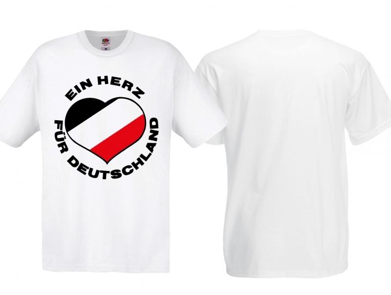 Deutsches Herz - T-Shirt