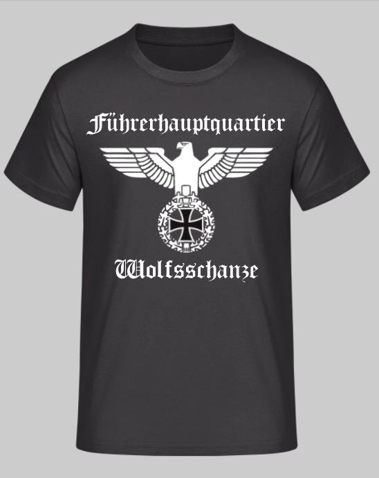 Führerhauptquartier Wolfsschanze Reichsadler - T-Shirt