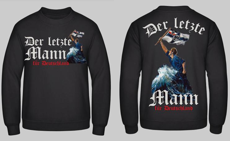 Der letzte Mann für Deutschland - Pullover
