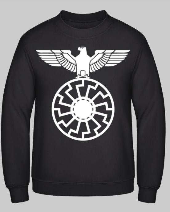 Reichsadler auf schwarze Sonne - Pullover