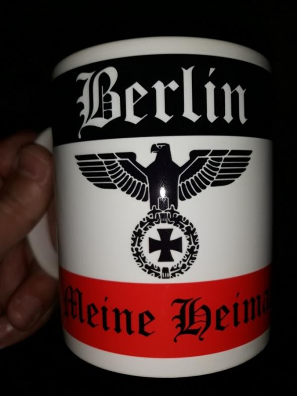 Berlin - Meine Heimat - 4 Tassen