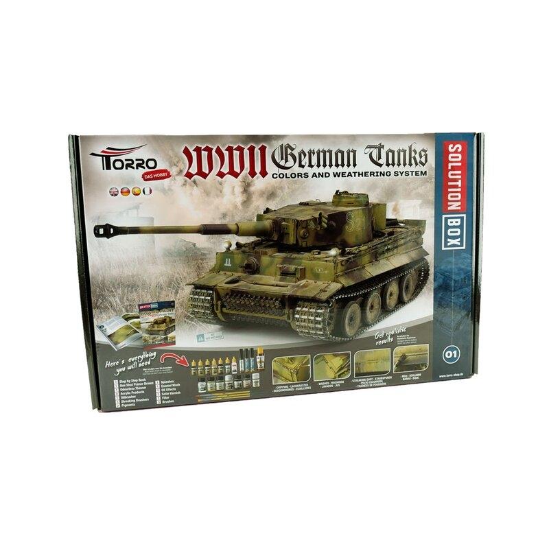 WW II German Tanks Solution Box
