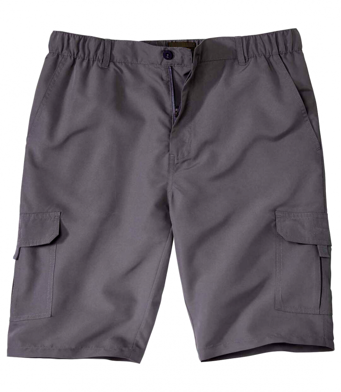 Graue kurze Hose