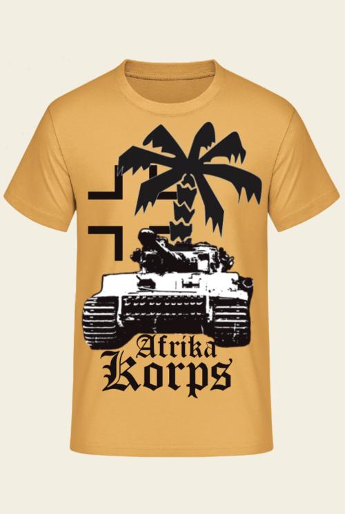 Tiger Panzer Afrika Korps - T-Shirt