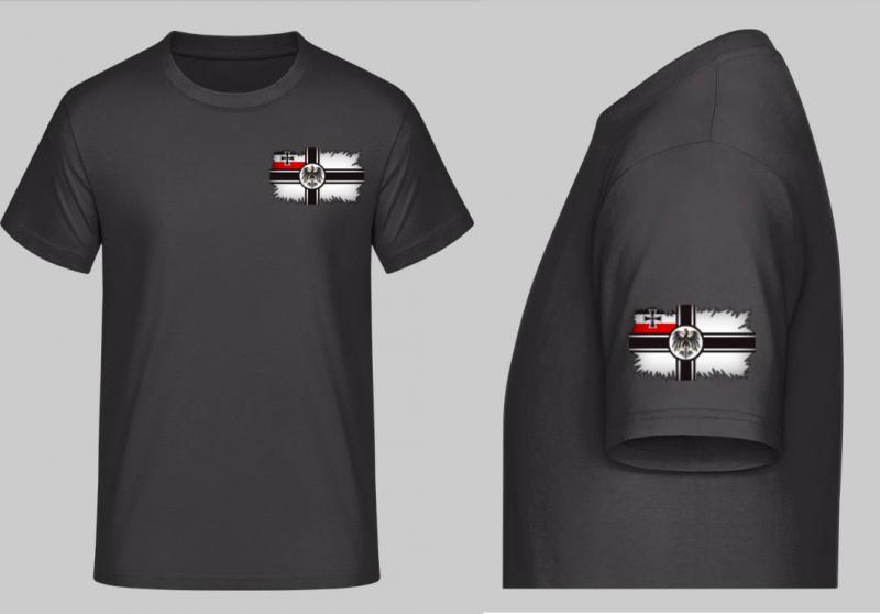 Reichskriegsflagge - T-Shirt