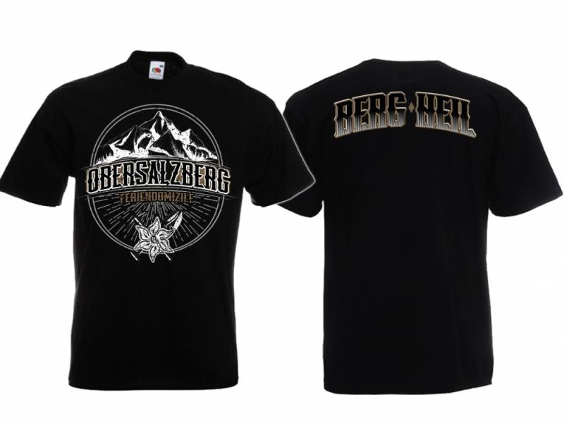 Obersalzberg - T-Shirt schwarz