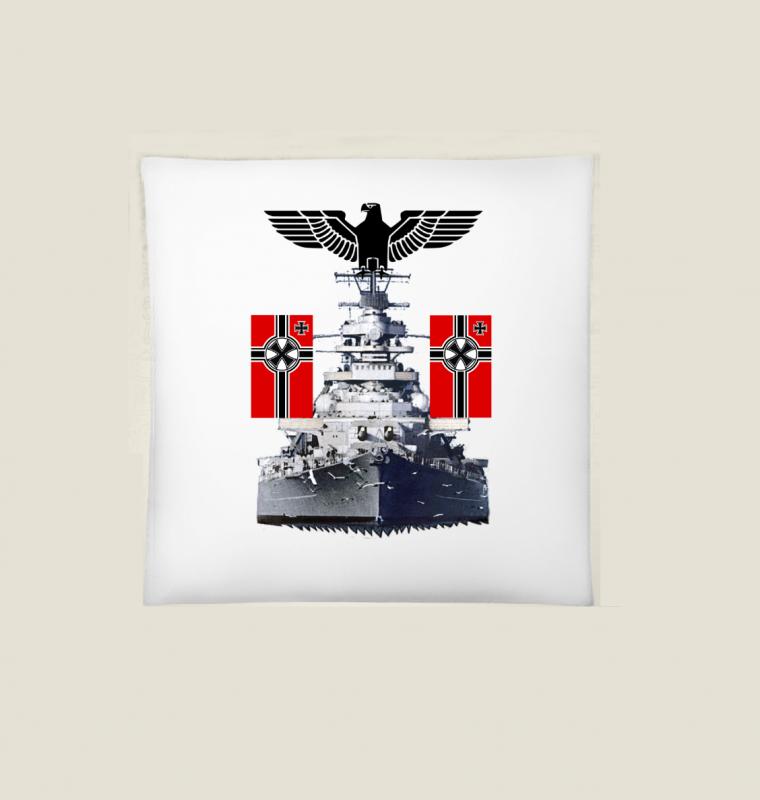 Schlachtschiff Bismarck III - Kissen