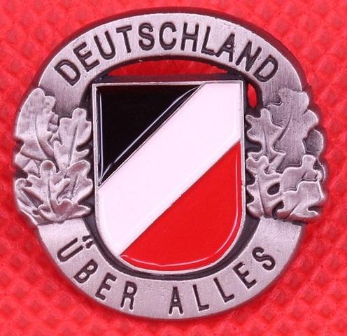 Deutschland über alles - Anstecker