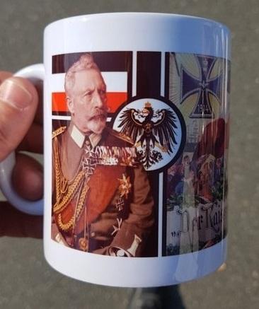 Wilhelm II - Der Kaiser rief und alle kamen - Tasse