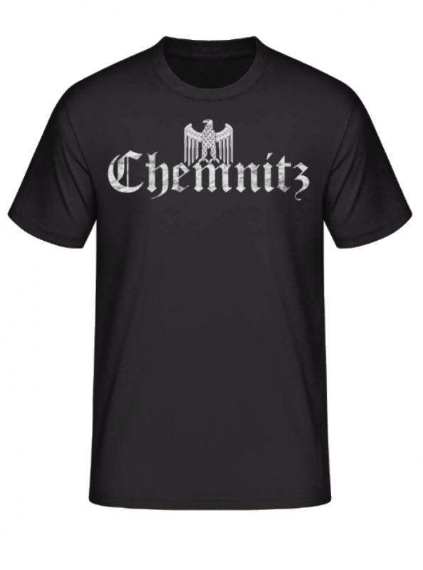 Chemnitz (Wunschtext) Reichsadler - T-Shirt