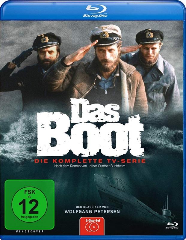 Das Boot - 308 Minuten - Die Ungekürzte Fassung/TV-Fassung [Blu-ray]