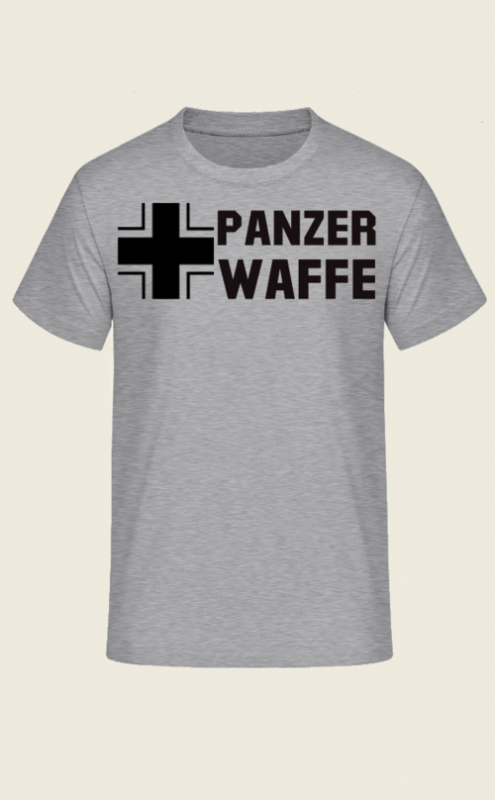 Panzerwaffe Balkenkreuz - T-Shirt