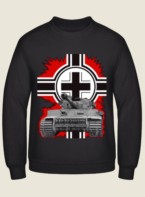 Tiger Panzer Balkenkreuz - Pullover