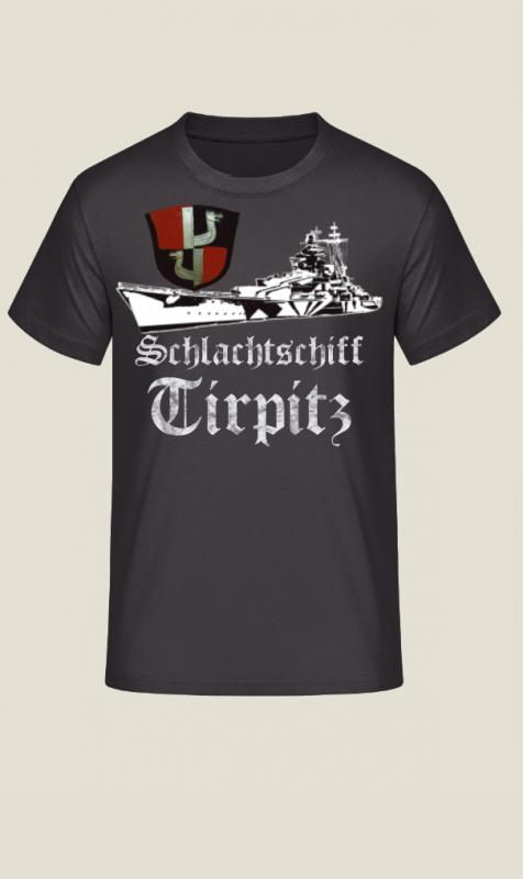 Schlachtschiff Tirpitz T-Shirt